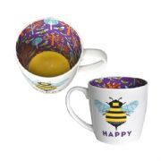 Bee Happy Inside Out Mug